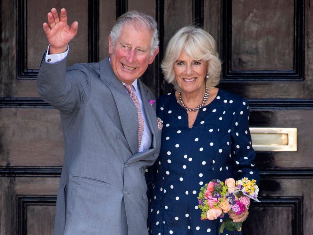 Seit 15 Jahren getraut: Prinz Charles und Camilla.