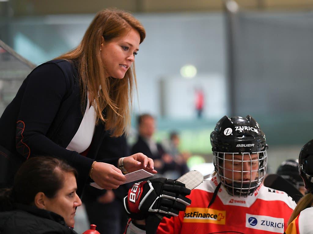 Florence Schelling gehörte zuletzt dem Trainer-Staff des U18-Juniorinnen-Nationalteams an