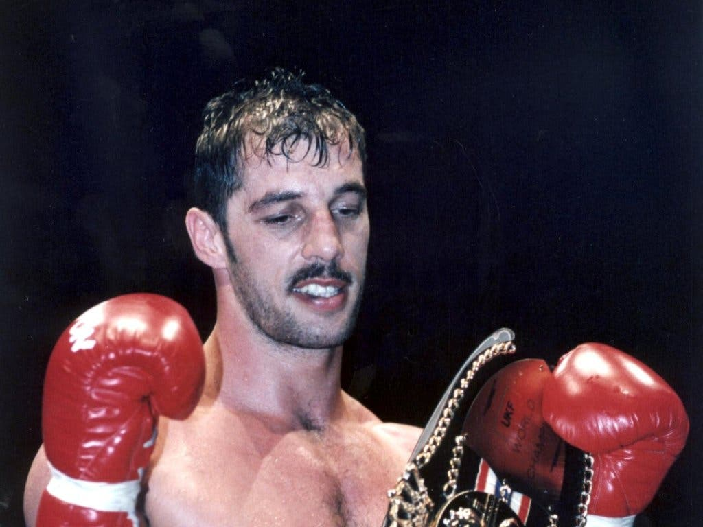 Andy Hug holte am 7. Juni 1997 den Weltmeistertitel im Vollkontakt-Kampfsport