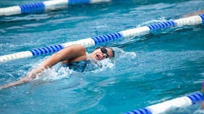 Nora Meister muss derzeit auf Trainings im Wasser verzichten. (Bild: PluSport/Célina Hangl)