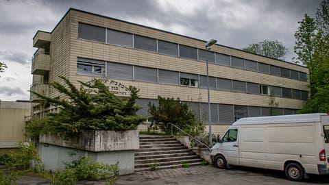 Die leer stehende Talmud-Schule an der Sackweidstrasse (Bild: Boris Bürgisser (Kriens, 1. Mai 2020))