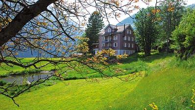 Das Ideenhaus in Seelisberg: Zu den wiederkehrenden Gästen zählen über 100 Schweizer Musikformationen aber auch Unternehmer, Privatpersonen und Retreatgruppen. (Bild: PD)