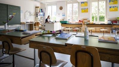 Die St.Galler Regierung möchte einen Kaltstart in den Schulen verhindern. (Symbolbild: Christian Beutler / KEYSTONE)