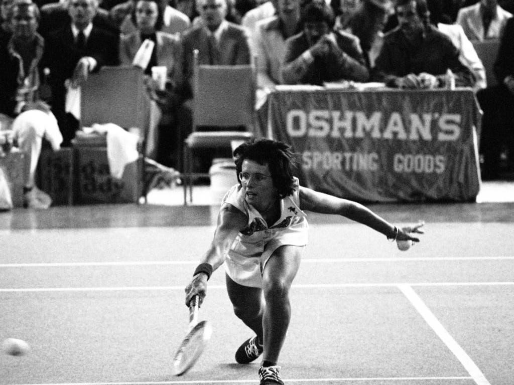Ihren wichtigsten Sieg feierte Billie Jean King bei keinem Grand-Slam-Turnier, sondern am 20. September 1973 in einem Showkampf, der als «Battle of the Sexes» in die Geschichte einging