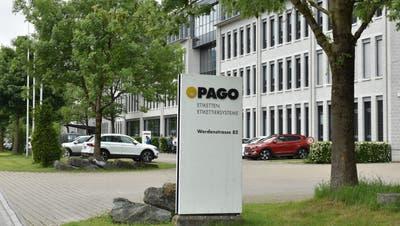 Bei der Pago in Grabs geht der Maschinenbau mit 30 Stellen verloren. (Bild: Thomas Schwizer)