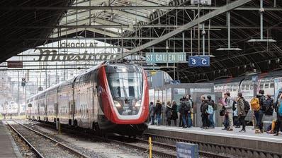Mehr Zug für die Region, ein Teil der Stadt St.Gallen bleibt jedoch abgehängt – Bahnausbau bringt nicht nur mehr Verbindungen