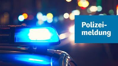 Horw: Autolenker fährt in Baustellenabschrankung – gesuchter Fahrzeuglenker wurdeermittelt