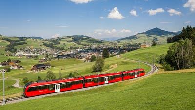 Der «Walzer» der Appenzeller Bahnen ist seit 2018 in Betrieb. Auch die Fahrzeuge der Frauenfeld-Wil-Bahn wurden modernisiert. (Bild: PD)