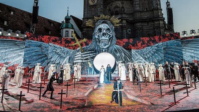 Die Festspiele 2020 fallen definitiv aus. Im Bild Verdis «Il trovatore» an den St.Galler Festspielen 2019. (Bild: Urs Bucher (25. Juni 2019))