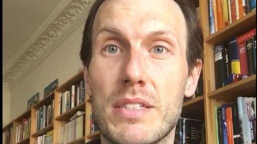 Ausschnitt aus der Videobotschaft von Christopher Kloeble. (Bild: pd)