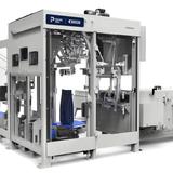 Eine vollautomatische Verpackungsanlage, entwickelt von Bühler und der kanadischen Premier Tech. (Bild: PD)