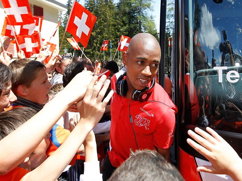 Auf dem Platz war Gelson Fernandes kein Blender, aber wegen seiner offenen Art bei den Fans trotzdem sehr beliebt