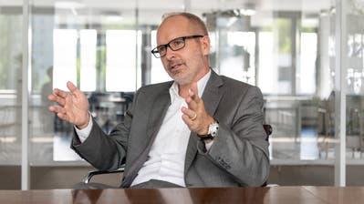 Der kantonale Bildungschef Stefan Kölliker sagt, es gebe aktuell nur in der Stadt St.Gallen Probleme wegen der Talentschulgelder. (Bild: Nik Roth)