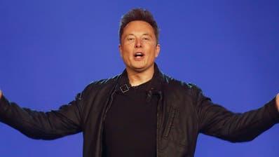Tesla-Chef Elon Musk wird normalerweise von Fans auf der ganzen Welt für seine Ideen gefeiert. (Bild: Keystone)