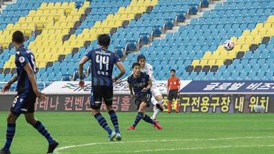 Ambitionierte Sportwetter konnten im Fussball zuletzt nur auf Spiele in Südkorea oder Weissrussland tippen. (Bild: Getty (Incheon, 9. Mai 2020))