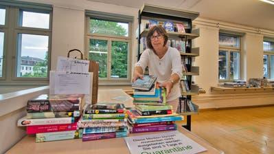 Uschi Tobler leitet die Bibliothek und Ludothek Amriswil. (Manuel Nagel)