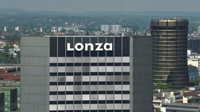 Der Lonza-Sitz in Basel. Der Impfstoff soll im Werk in Visp (Wallis) produziert werden. (Juri Junkov / BLZ)