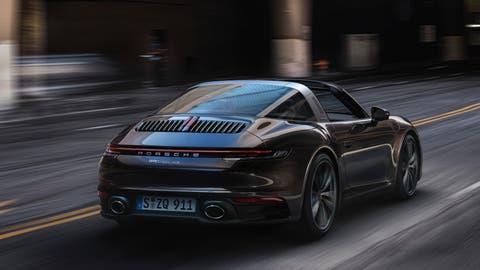 Porsche 911 Targa 4S. (Bild: HO)