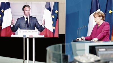 Merkel und Macron wollen gemeinsame Coronaschulden - doch sie müssen mit Widerstand rechnen