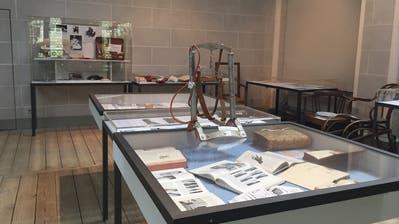Die Sonderausstellung zur Urner Medizingeschichte steht im Historischen Museum bereit. (Bild:PD/Marlys Arnold-Gisler)