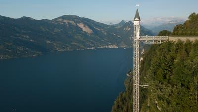 Musste im vergangenen Sommer geschlossen werden: Der Hammetschwand-Lift am Bürgenstock. (Bild: Bürgenstock Hotels AG/PD)
