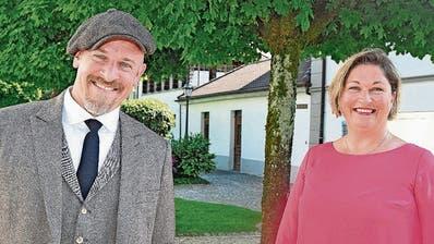 Machen es unter sich aus: Roland Müller und Sibylle Hofer. (Bild: Edith Meyer (Küssnacht, 17. Mai 2020))