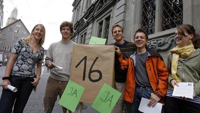 Vorbild Jugend in der Coronakrise: Erhält sie das Vertrauen in Form von Stimmrechtsalter 16 zurück? (Bild: Keystone)