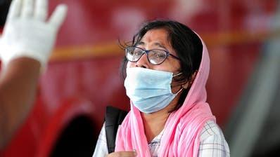 Mehr als 100'000 Corona-Infektionen in Indien