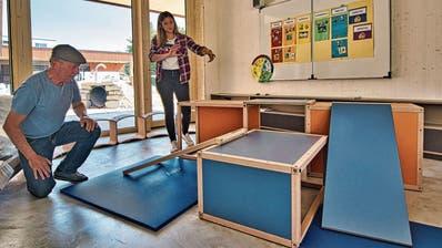 Ein Amriswiler liefert das Mobiliar für den neuen Kindergarten in seiner Heimatstadt: Der Göttibub gab den Anstupf