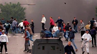 In Kreuzlingen geht es bald so zu und her wie im nordirischen Belfast. ((Bild: Keystone))
