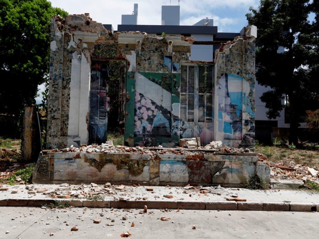 Historische Bausubstand hielt dem Erdbeben auf Puerto Rico nicht Stand.