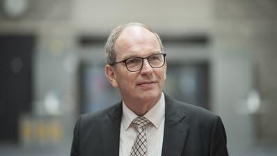 Der Entscheid des neu gewählten Regierungspräsidenten Bruno Damann (CVP) wird von der St.Galler SP heftig kritisiert. (Gian Ehrenzeller / KEYSTONE)