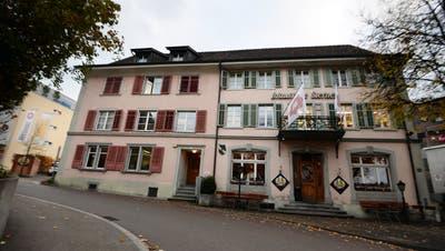 Die Aussenansicht des Restaurant  Brauhaus Sternen an der Hohenzornstrasse in Frauenfeld. ((Bild: Nana Do Carmo,November 2013))