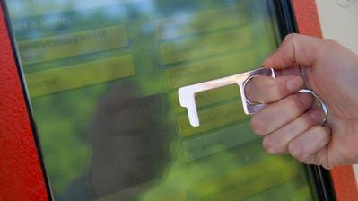 Der Schlüsselanhänger von notouchtool.de ist momentan äusserst beliebt. (Bild. zvg)