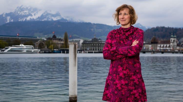 Ina Karr, die neue Intendantin des Luzerner Theaters. (Bild: Philipp Schmidli (Luzern,16. April 2019))