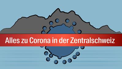 Eingang zur Isolierungsstation. Das Kantonsspital Luzern stellt die Isolierungsstation fuer Corona-Patienten vor. (Bild: Patrick Huerlimann, Luzern, 05. Maerz 2020) (Patrick Hürlimann / Patrick Huerlimann)