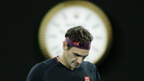 Roger Federer sagt, er vermisse das Tennis nicht gross. (Bild: Keystone)