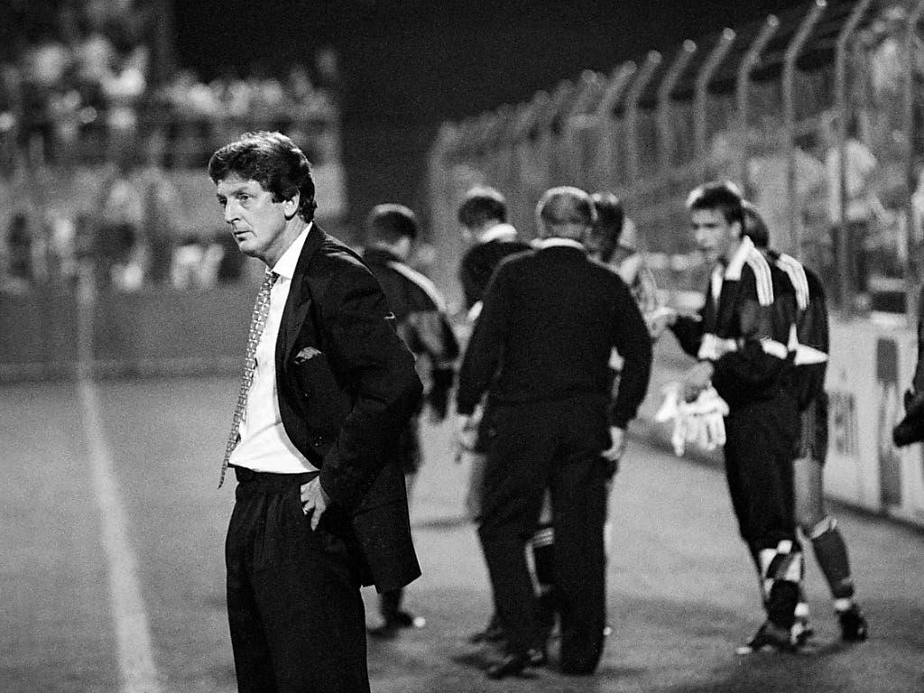 Roy Hodgson war beim Coup gegen Celtic Glasgow der Trainer von Neuchâtel Xamax