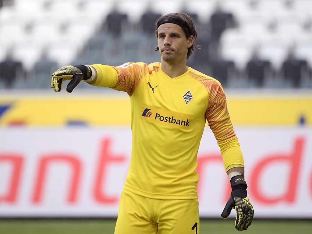 Yann Sommer hätte den Penalty fast gehalten