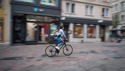 Die SP verfolgt mit ihrer Velo-Initiative das Ziel, die Zahl der Velofahrer in der Stadt St.Gallen innert zehn Jahren zu verdoppeln. (Benjamin Manser)