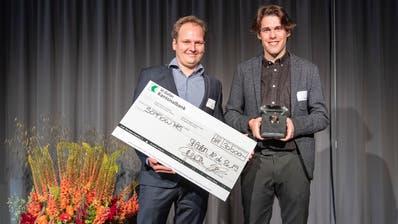 Gewinner des Startfeld Diamant war letztes Jahr das Flawiler Start-up SoFlow. (Bild: Urs Bucher)
