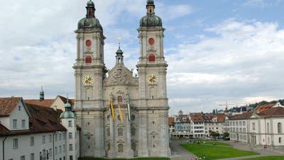 Immer wieder störte der 55-Jährige Gottesdienste in der Kathedrale St.Gallen. (Bild: Regina Kühne)