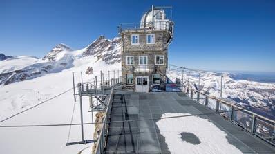 Bilder wie dieses gehören bald der Vergangenheit an: das verwaiste Jungfraujoch. (jungfrau.ch)