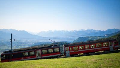 Die Gaiserbahn fährt noch etwa 15 Jahre, dann soll sie mit Bussen ersetzt werden. (Gian Ehrenzeller / KEYSTONE)