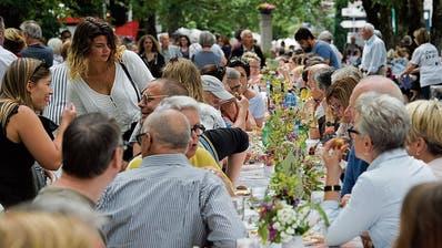 Am offiziell ersten Tag der Nachbarn in Frauenfeld soll aus vielen kleinen ein grosses Fest werden
