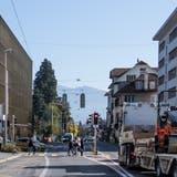 Die Hauptachse Luzernerstrasse (Bild) und Obernauerstrasse in Kriens sollen attraktiverwerden. (Bild: Nadia Schärli (14. Oktober 2019))