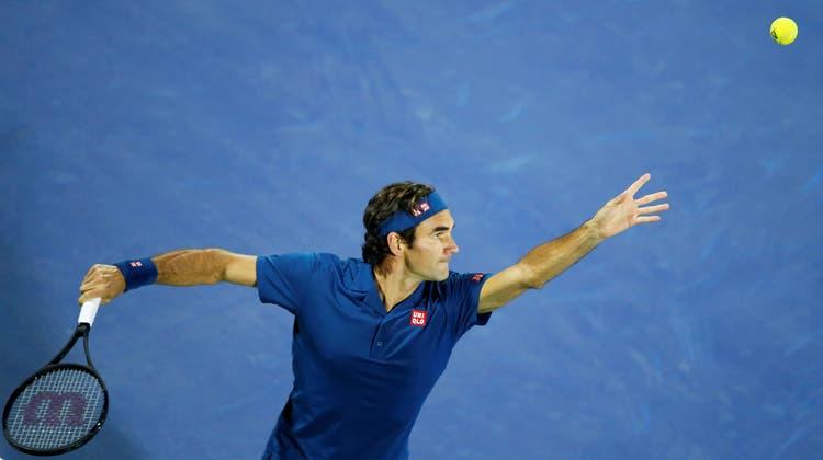 Auch ein Post von Roger Federer auf Instagram wurde vom Konsumentenschutz beanstandet. (Ali Haider / EPA)