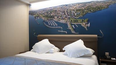 Leere Betten: Dem Schweizer Tourismus stehen harte Zeiten bevor. (Keystone)