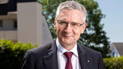Der Aargauer SVP-Nationalrat Andreas Glarner entscheidet als Präsident der Staatspolitischen Kommission gegen Stimmrechtsalter 16. (Severin Bigler)