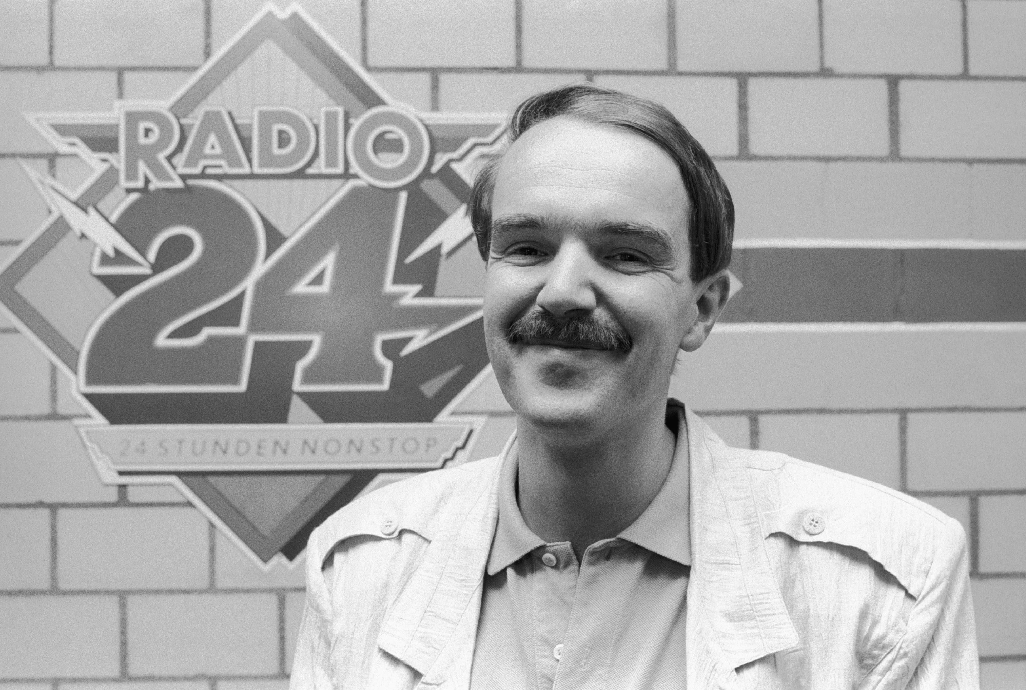 Markus Gilli mit Schnauz, das Foto stammt aus dem Jahr 1988.